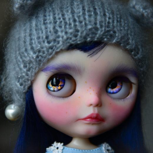 Custom Blythe doll by Blythe Darts
