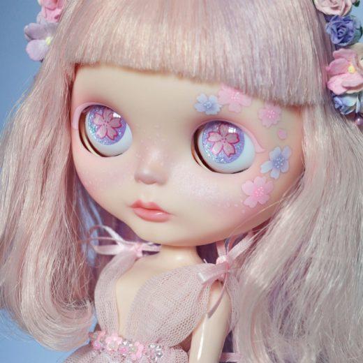 Custom Blythe doll by Lolidoli: Suki Sakura, 2017