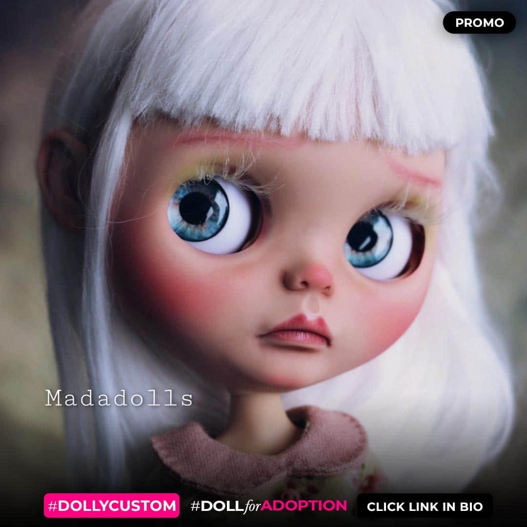 Madadolls - Custom Blythe Doll for Adoption / Sale on DollyCustom