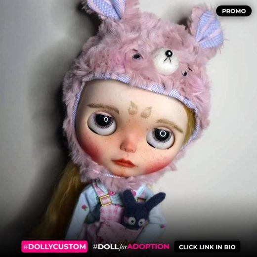 Custom Blythe Doll by RaphaelaBlythePT