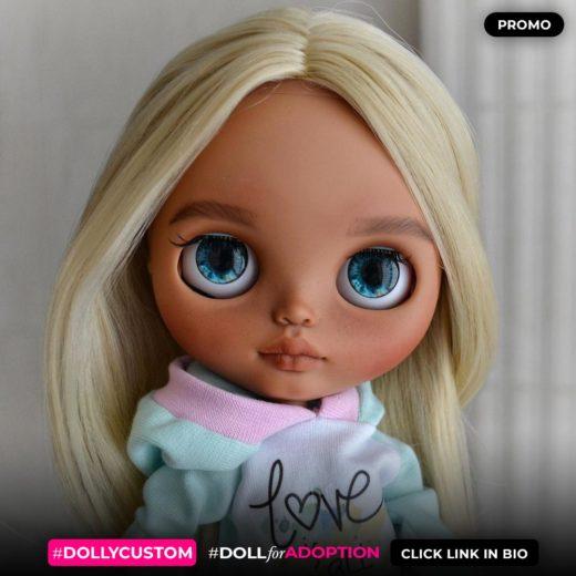 Custom Blythe Doll by blythe_by_sweety
