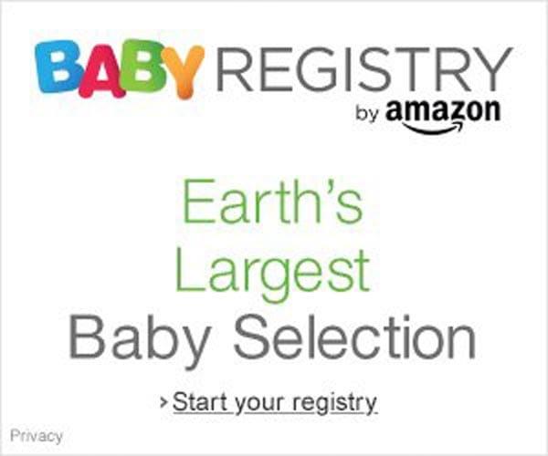 Amazon – Baby Registry