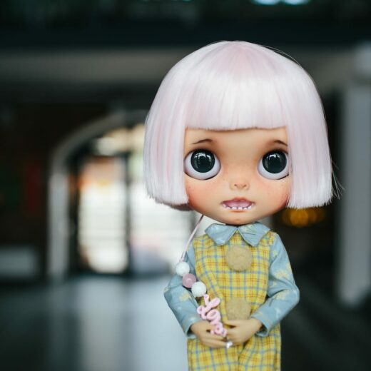 Biry_Blythe is the brand name of Natalya Biryukova, a Blythe doll customizer from Russia. Learn more about her on DollyCustom.