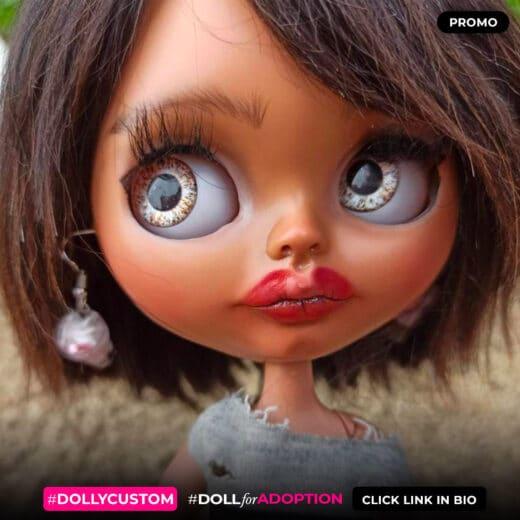 Custom Blythe Doll by Anicovmacustom