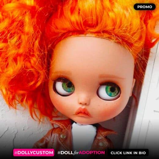 Custom Blythe Doll by MarishaBlythe