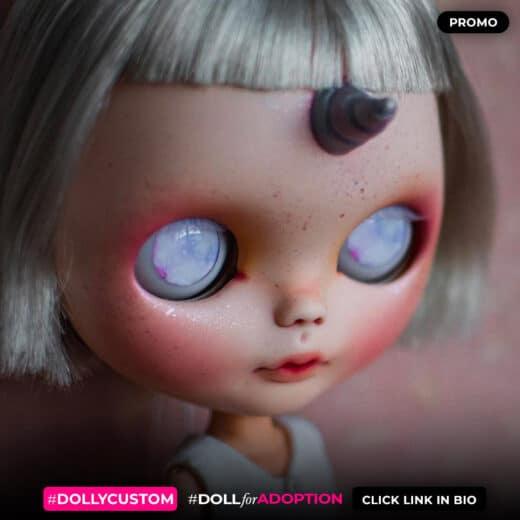 Custom Blythe Doll by UnnieDolls