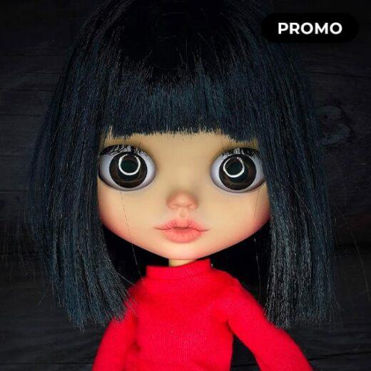 Custom Blythe Doll for Adoption / Sale by BlytheDollsByUliana
