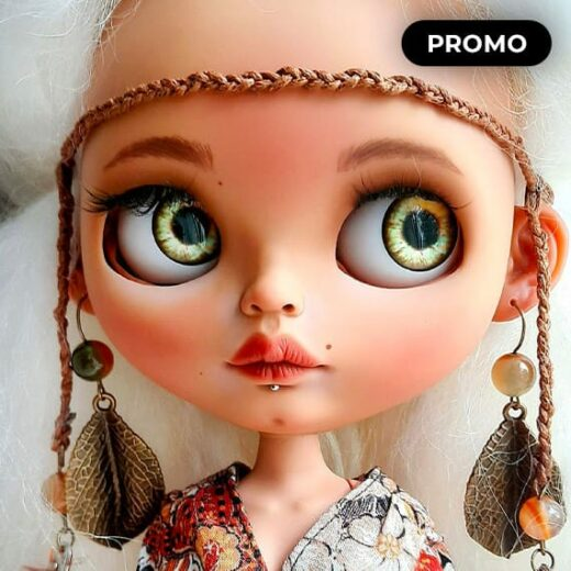 Custom Blythe Doll for Adoption by BlytheDollsIPStudio