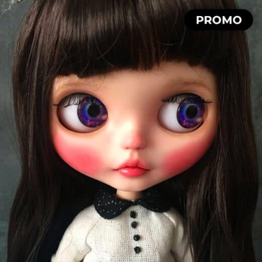 Custom Blythe Doll by perkyjollypep