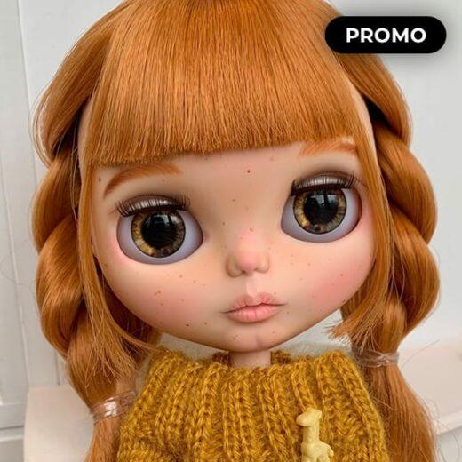 Custom Blythe Doll by BlytheByKrisDesign