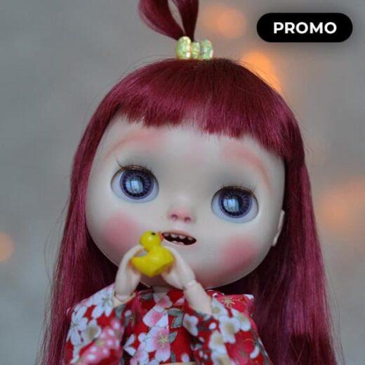 Custom NEO Blythe Takara SBL Natasha Moore SAKURA by lollipopbears
