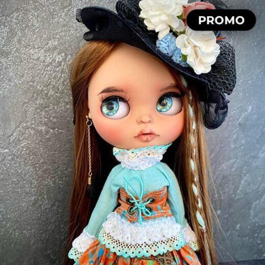 Custom Blythe Doll for Adoption / Sale by LifaDolls