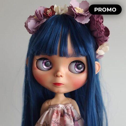 Custom Blythe Doll for Adoption / Sale by ForeverlyDolls