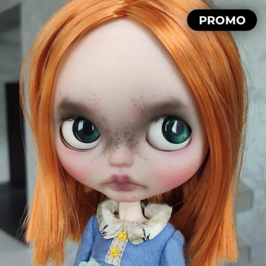 Custom Blythe Doll for Adoption / Sale by DollsQueensJo