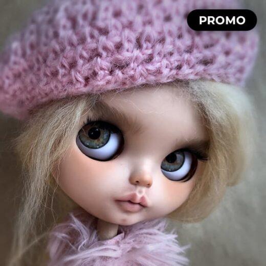 Custom Blythe Doll for Adoption / Sale by EsterFerrerDolls