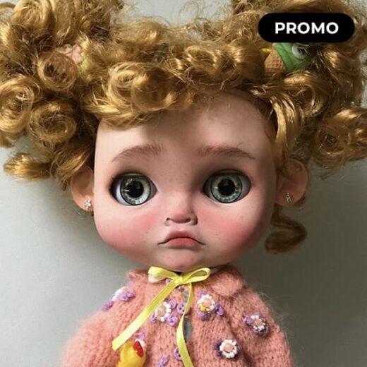 Custom Blythe Doll for Adoption / Sale by DollsbyGP