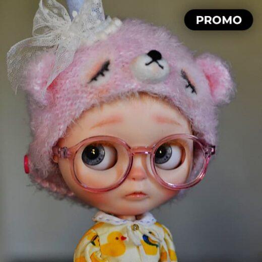 Custom Blythe Doll for Adoption / Sale by lollipopbears