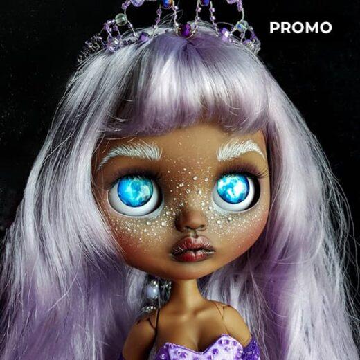 Custom Blythe Doll for Adoption / Sale by LittleChaosArt