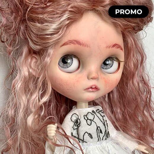 Custom Blythe Doll for Adoption by SofiNika