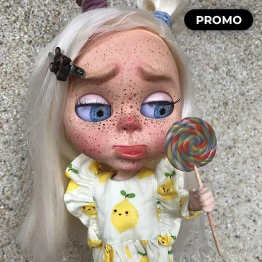 Custom Blythe Doll for Adoption / Sale by Blythemaniya