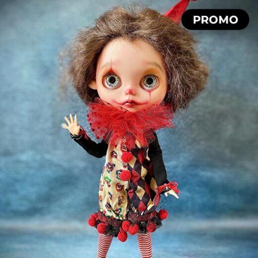 Custom Blythe Doll for Adoption / Sale by KukumBerryX