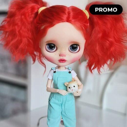 Custom Blythe Doll for Adoption / Sale by UmkaDolls