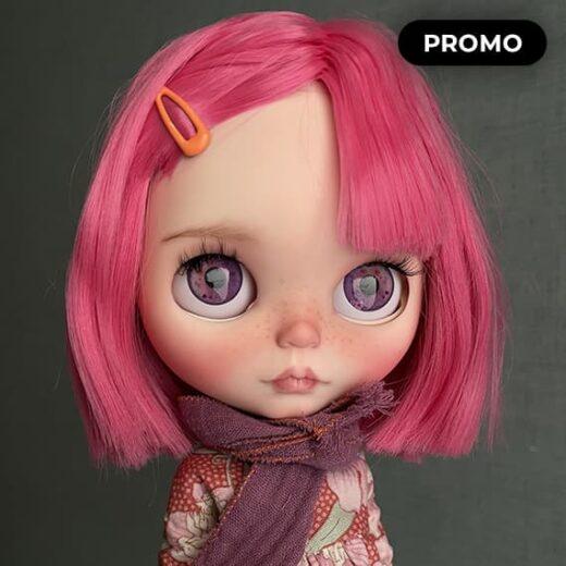 Custom Blythe Doll for Adoption / Sale by MyDolliesBakery